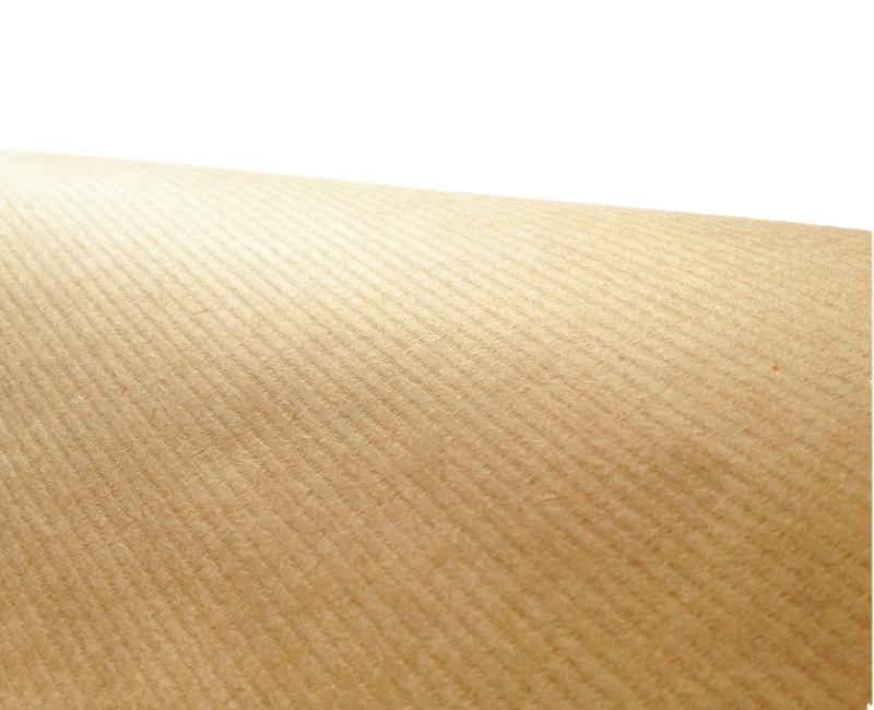 本色条纹牛皮纸,又名:鸡皮纸,是单面光的牛皮纸,底面有条纹手感.咨询牛皮纸价格找牛皮纸厂家——美益合纸业. ---双击进入查看产品详情---